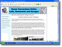 House Conversion Information website