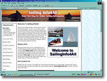 Sailing Information Website